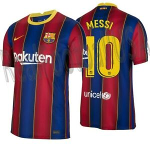 NIKE LIONEL MESSI FC BARCELONA HOME JERSEY 2020/21