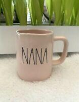 VHTF Rae Dunn ***NANA*** Pink Ceramic Mug Coffee Tea Cup LL Farmhouse by Magenta