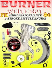 High Performance 66cc/80cc 2-Stroke Motorized Bike Kit With Power Pipe And Head