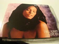 RAR MAXI CD. WHITNEY HOUSTON. I WILL ALWAYS LOVE YOU. 3 TRACKS