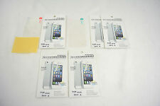 5 X Clear Front+Back Screen Cover Protector *FULL BODY* For APPLE iPhone 4 4S