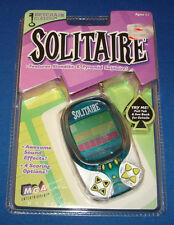 SOLITAIRE KLONDIKE & PYRAMID ELECTRONIC CARD GAME KEYCHAIN MGA TRAVEL KEY RING