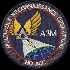 USAF AIR COMBAT COMMAND – A3M – MULTI-ROLE RECONNAISSANCE OPERATIONS - VEL PATCH
