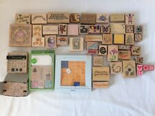 Scrapbooking Rubber Stamps Mixed Lot and Sets Crafts Stampin' Up Mary Engelbreit