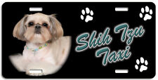 Shih Tzu 4 Taxi Line License Plate ( Low Clearance Price )