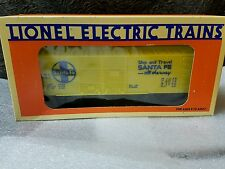 Lionel Trains 6-16250 ATSF Ship and Travel Santa Fe All The Way MIB never used