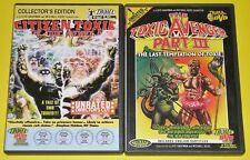 Horror DVD Lot - The Toxic Avenger Part III (New) The Toxic Avenger IV (Used)