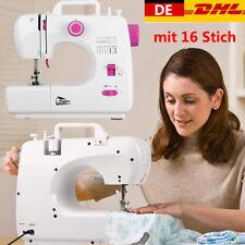 Elektrische Nähmaschine mit 16 Nähprogrammen Multifunktional  Handnähmaschine DE