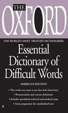 The Oxford Essential Dictionary of Difficult Words by Oxford University Press...