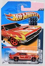 Hot Wheels 2012 Hw Principal Calle '69 Mercury Cougar Eliminador Rojo Factory