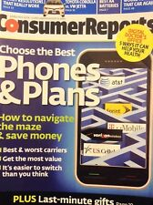 Consumer Reports Magazine The Best Phone Plans January 2014 032818nonrh