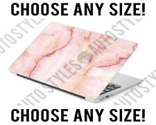 Pink Marble Salmon Marble Laptop Skin Decal Sticker Tablet Skin Vinyl Cover