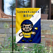 NAU Lumberjacks Tokyodachi Garden Flag and Yard Banner