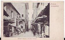 Italy Firenza - Mercato Vecchio - Via Degli Strozzi old postcard
