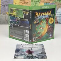 SHIPS SAME DAY *Case & Insert Only* Rayman Legends Microsoft Xbox One