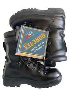 British Army Issue ECW Gore Tex  Combat Boots Size 7 M Bushcraft Military
