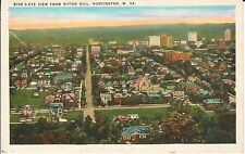 1920's Bird's Eye View from Ritter Hill of Huntington, WV West Virginia PC