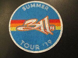 311 Die Cut Sticker SUMMER TOUR 2019 circle LOGO New classic logo from cd lp art