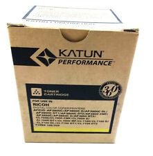 Katun Compatible Toner Printer Print Cartridge for Ricoh Types 105/205 - Yellow