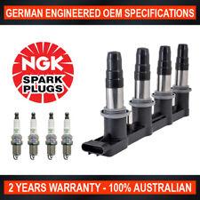 Ignition Coil Pack & 4x Genuine NGK Spark Plugs for Holden Cruze JG JH 1.8L F18D