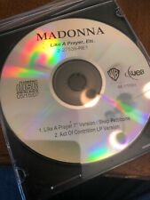 Madonna Like A Prayer Single Promo 2-27539-RE1 Matters In House CD