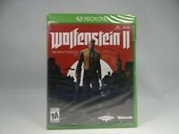 *New* Wolfenstein II: The New Colossus (Microsoft Xbox One, 2017) Free shipping!