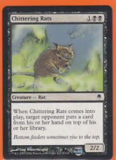 MTG Darksteel  1 x CHITTERING RATS  (39/165) Common card Never Played AS NEW