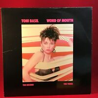 TONI BASIL Word Of Mouth 1981 UK Vinyl LP Excellent Condition original Mickey