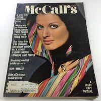 VTG McCall's Magazine: December 1971 - Lauren Hutton Front Cover