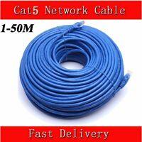 5/10/20/50M Premium 100Mbps CAT5E  Ethernet RJ45 High Speed Network Lan Cable AU