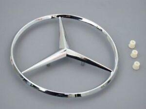 Genuine Mercedes Trunk Star Kit+Grommets Rear Decklid Logo Insignia (w124 w201)