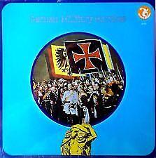 GERMAN MILITARY MARCHES - USA 33/3 LP VINYL RECORD