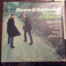 SIMON & GARFUNKEL 'WEDNESDAY MORNING 3AM' & 'SOUNDS OF THE SILENCE' 2 LP LOT