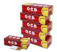 2000  Tubos OCB x 10 cajas de 200 unidades para rellenar tabaco filtro largo