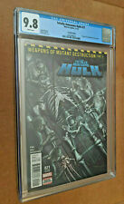 Totally Awesome Hulk #21 2nd Print 1st appearance H-Alpha Weapon H Cameo CGC 9.8