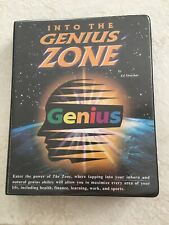 Into the Genius Zone by Ed Strachar (8 Cassette Tapes and 1 Vhs Tape)