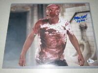 """Tobin Bell """"Jigsaw"""" Signed 11x14 Photo Autograph Beckett BAS COA!"""