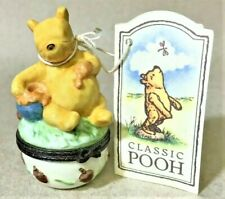 Disney Classic Winnie The Pooh Midwest Cannon Falls Give Thanks Trinket Box