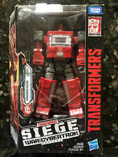 New listing Transformers Siege Ironhide 2018 Deluxe Class War For Cybertron Figure New Mib