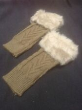 Knit Fingerless Gloves for Women