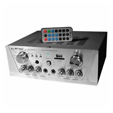 LTC Karaoke Mixer Stereo 2 x 50W Amplifier Bluetooth USB SD ATM2000USB-BT