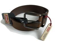 NWT Levi's Handcrafted Leather Belt Men's Size M(34-36) Brown