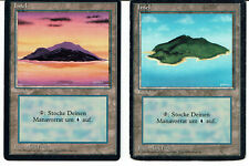 MAGIC THE GATHERING, MTG FBB INSEL/ISLAND (German)