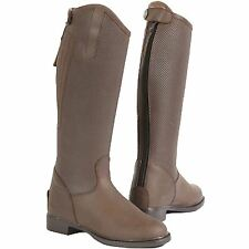 Toggi Tuscon Childrens Tall Nubuck Leather Horse Riding Country Boots Size 28-38