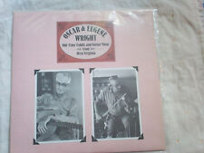 """Oscar & Eugene Wright """"Old Time Fiddle and Guitar Music from West Virginia"""" LP"""