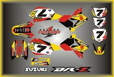 Suzuki DRZ400 DRZ 400  SEMI CUSTOM GRAPHICS KIT YELLOW FACTORY