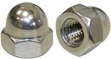 Stainless Steel 1/4-20 Acorn Cap Nut 18/8 30410 Pack