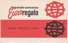FERRERO - GRANDE CONCORSO EUROREGALO - ALBUM RACCOLTA PUNTI - NUOVO NON USATO