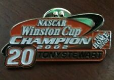 2002 Nascar Winston Cup Champion TONY STEWART Lapel Hat Pin - Home Depot