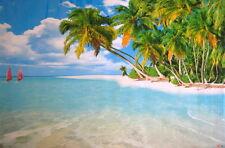 New 5FT Tropical Beach POSTER MURAL DECOR (8256)